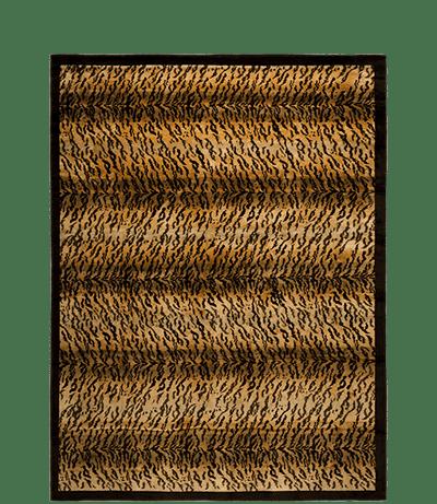 tapis noué main